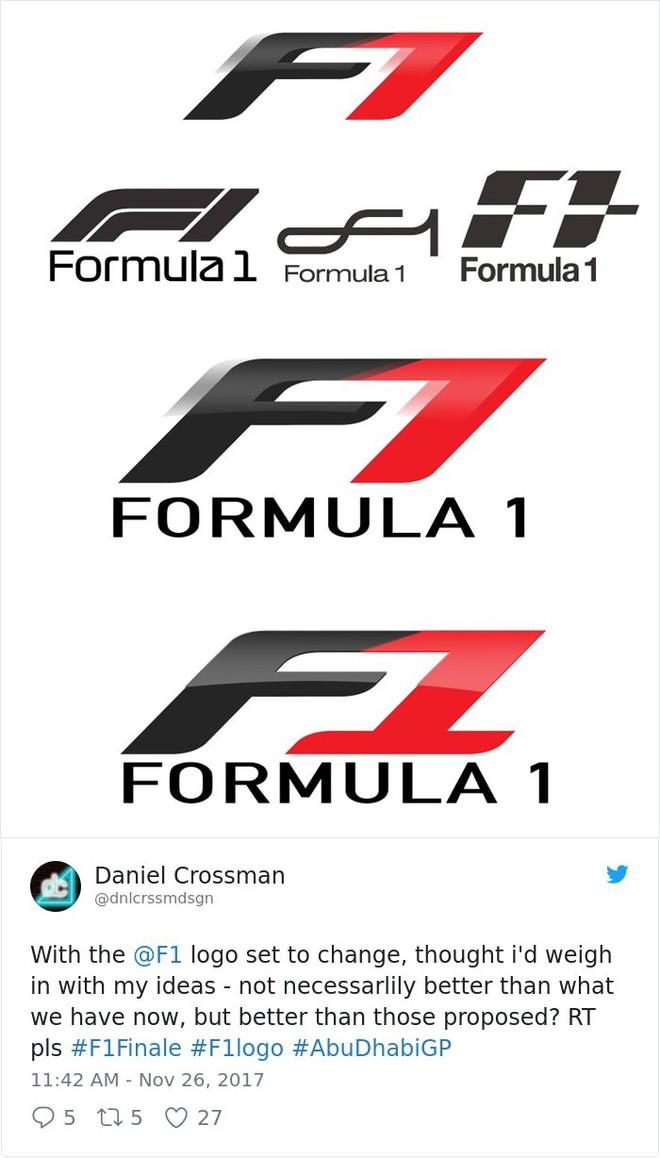 Giải đua xe Công thức 1 đổi logo sau 24 năm, không ngờ lại biến thành trò cười cho Internet - Ảnh 14.