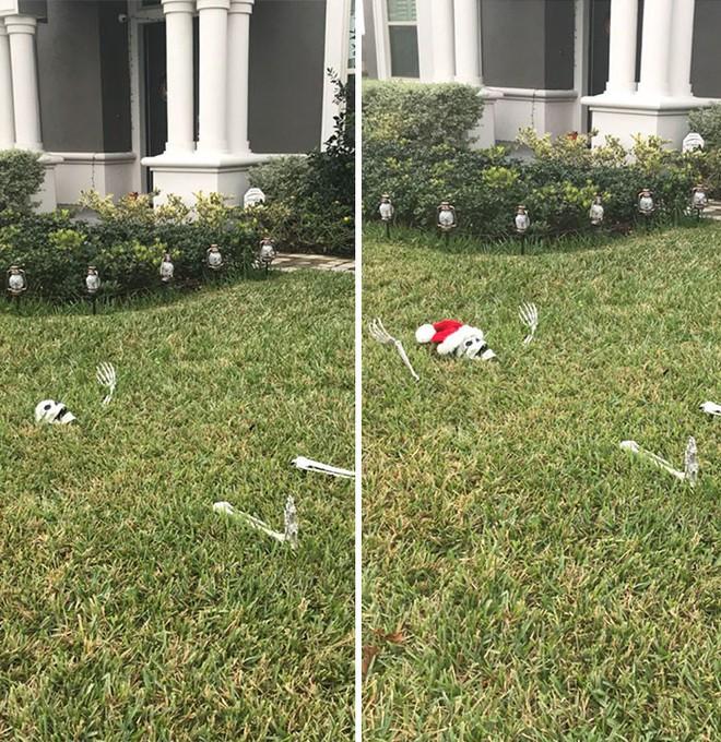 [Vui] Khi những kẻ lười biếng bị giao nhiệm vụ trang trí Giáng sinh - Ảnh 6.