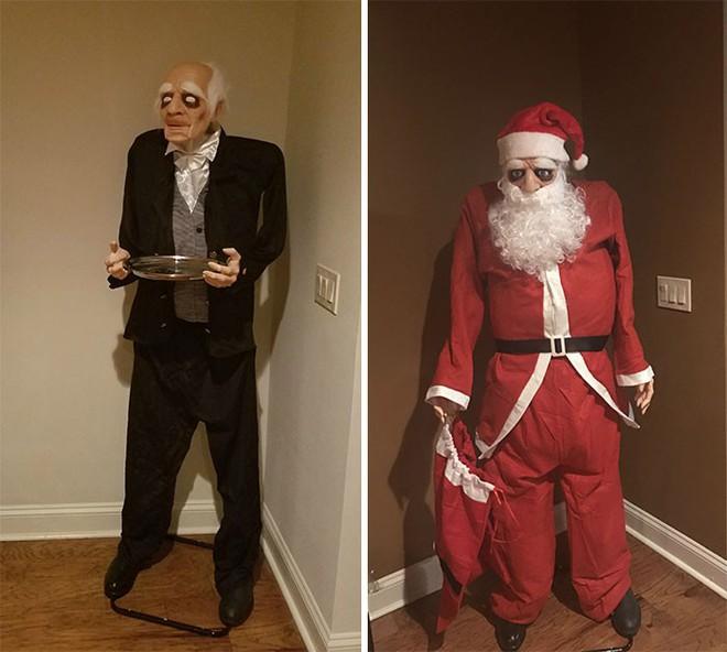 [Vui] Khi những kẻ lười biếng bị giao nhiệm vụ trang trí Giáng sinh - Ảnh 13.