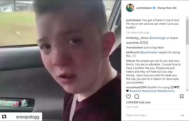 Lên mạng cầu cứu vì bị bắt nạt, cậu bé đáng thương được cả Internet đứng lên ủng hộ - Ảnh 2.