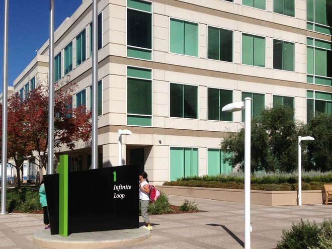Apple sẽ bỏ lại một số nhân viên sau khi hoàn thành trụ sở mới - Ảnh 1.