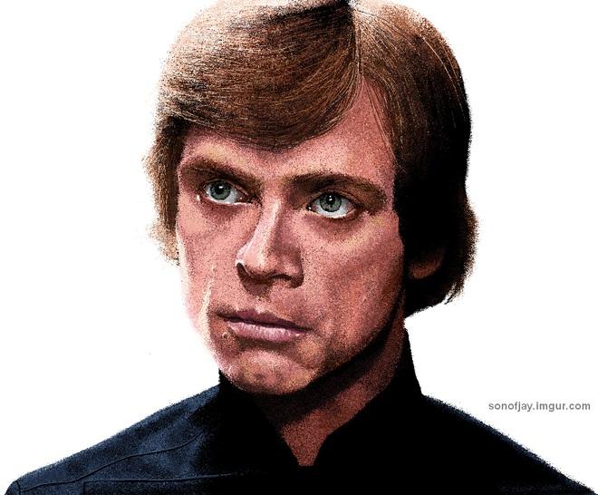 Và đây là Luke Skywwalker