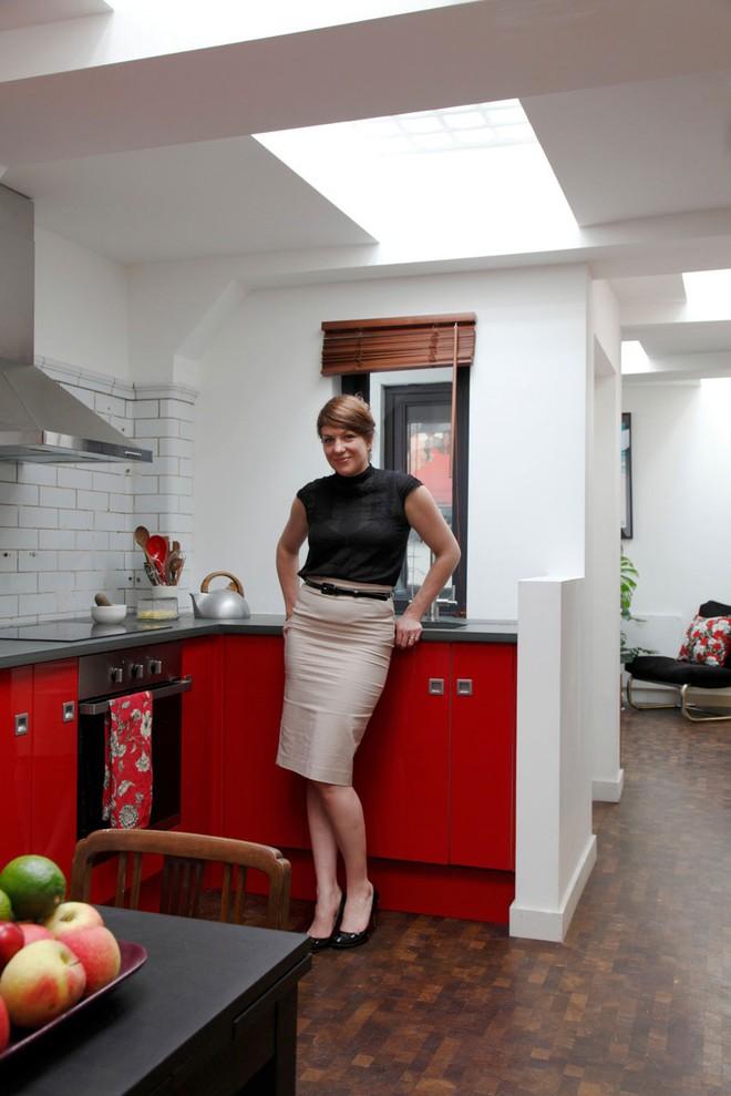 Nữ KTS tài năng bên trong căn bếp ấm cúng