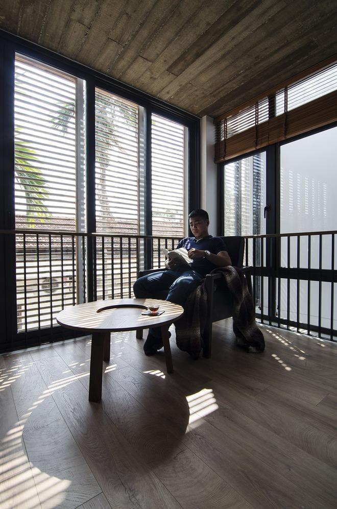 Không gian đọc sách lý tưởng vào cuối tuần