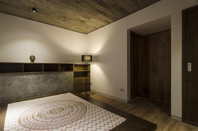 Phòng ngủ được thiết kế ấn tượng