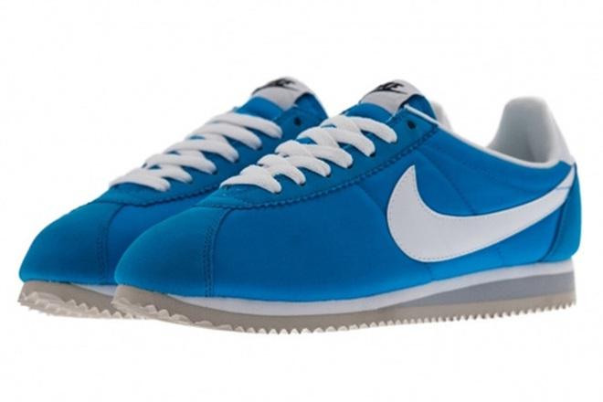 Nike Nylon Cortez Blue/white