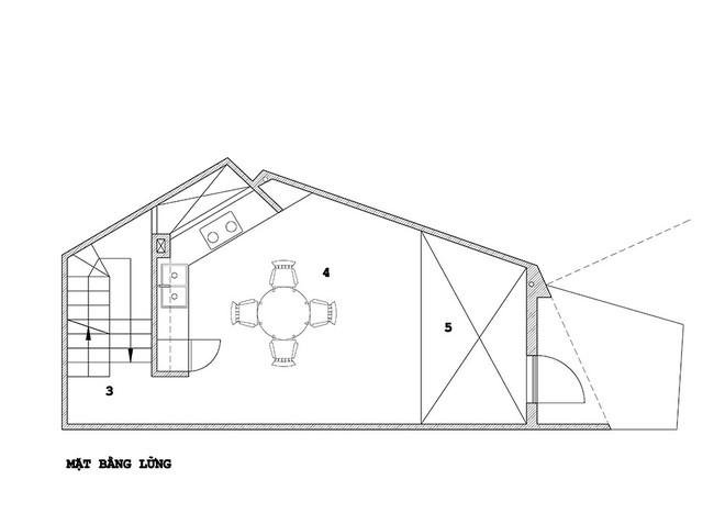 Ngôi nhà 42m2 kỳ lạ ở Sài Gòn: Bên ngoài tưởng kín như hũ nút, bên trong thoáng mát rộng mở thênh thang - Ảnh 21.