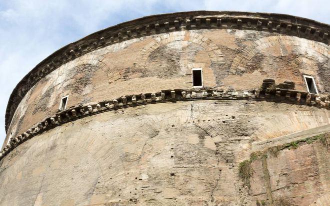 Một pháo đài La Mã cổ đại.