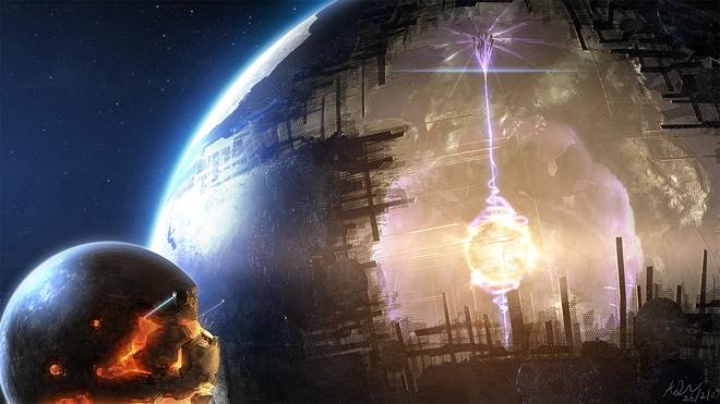 Minh họa một cấu trúc Dyson Sphere