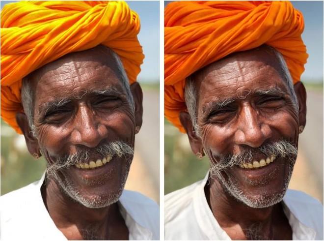 Hiệu ứng chụp chân dung có thể tắt sau khi chụp nếu bạn không thích phông cảnh đằng sau bị làm mờ đi.