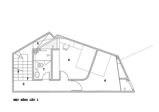 Ngôi nhà 42m2 kỳ lạ ở Sài Gòn: Bên ngoài tưởng kín như hũ nút, bên trong thoáng mát rộng mở thênh thang - Ảnh 22.