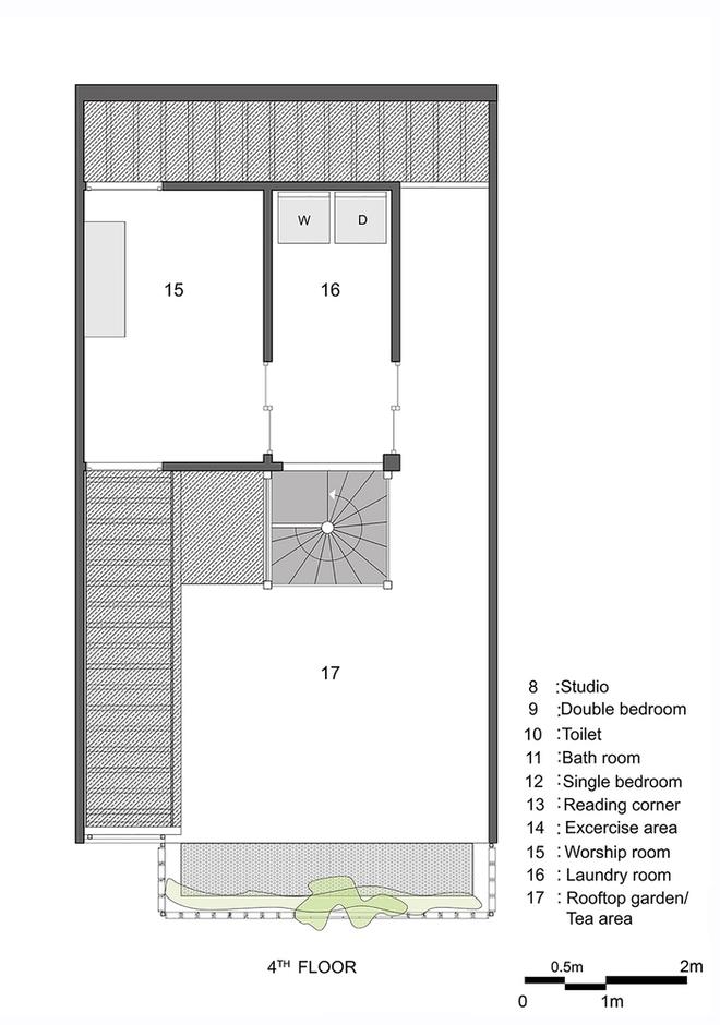 Mặt bằng các tầng của Q10 House