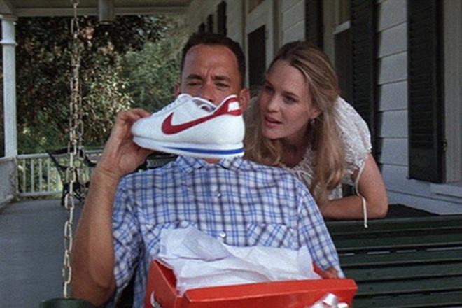 Nike Cortez xuất hiện trong bộ phim kinh điển Forrest Gump