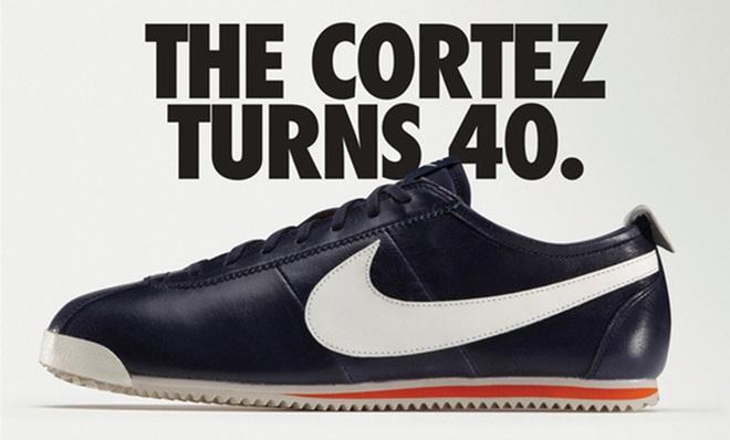Mẫu giày mang tính biểu tượng giờ đã có 40 năm lịch sử.