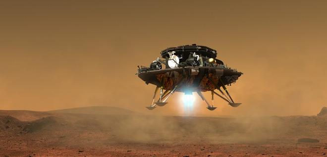 Trung Quốc nung nấu tham vọng vũ trụ: Thuộc địa hóa sao Hỏa năm 2020. Ảnh: News.cn