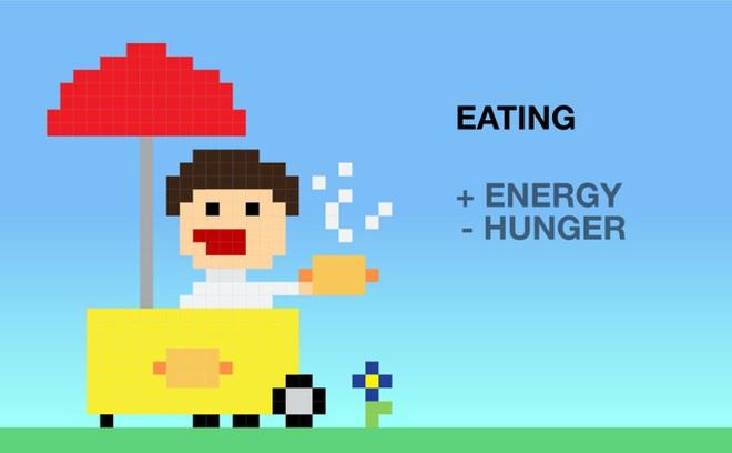 Ăn uống: cộng năng lượng, giảm cảm giác đói