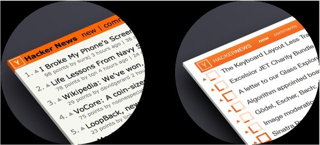 Ý tưởng cải thiện thiết kế Hacker News của Hila Peleg.