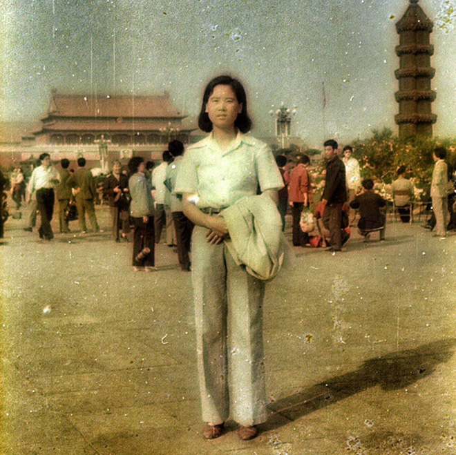 Một phụ nữ Trung Quốc xưa.