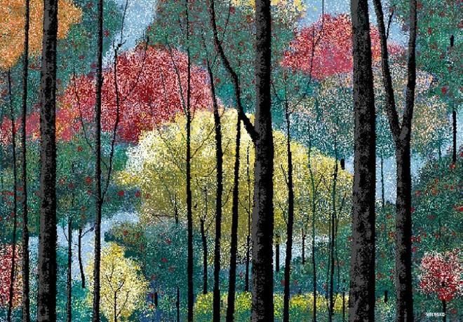 Thoạt nhìn ai cũng nghĩ đây là một bức tranh sơn dầu, nhưng thực ra đây là một tác phẩm được tạo nên hoàn toàn bằng MS Paint. Hơn nữa, bức tranh này đã được một vị họa sĩ cao tuổi có tên Hal Lasko vẽ vào những năm 80 của thể kỷ trước đấy!