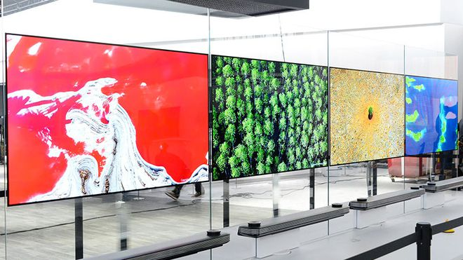 Những chiếc TV cao cấp của Samsung