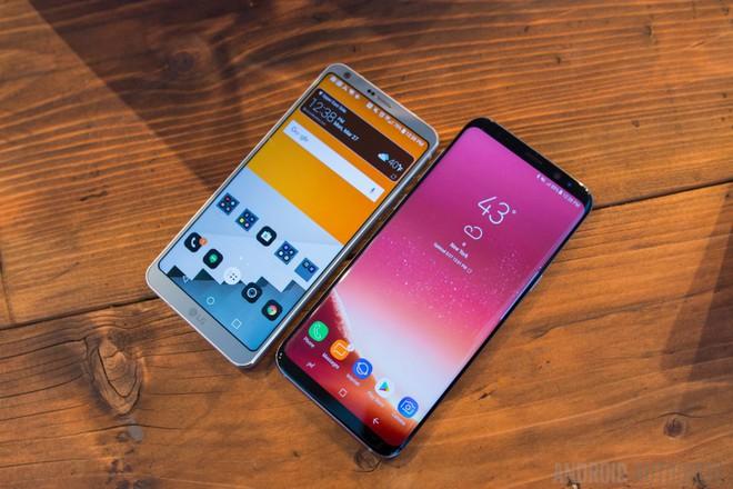 LG G6 và Galaxy S8+