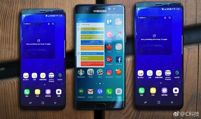 Galaxy S8, Galaxy Note7 và Galaxy S8+