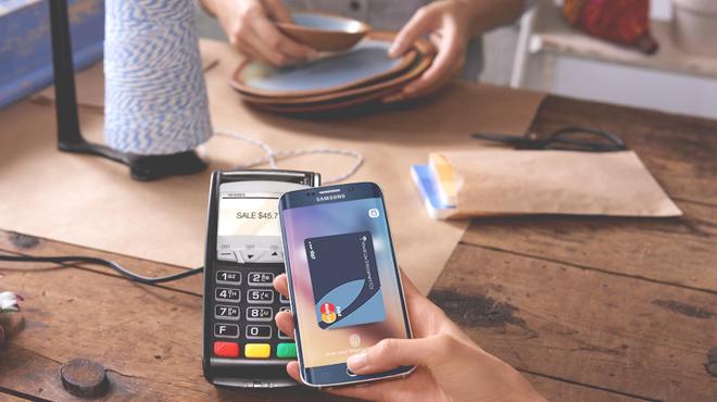 Samsung hỗ trợ thanh toán trên cả các máy thanh toán truyền thống với giao thức MST.