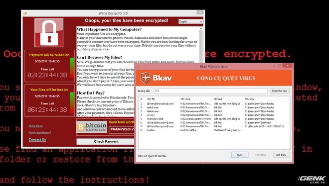 Phần mềm CheckWanCry của BKAV