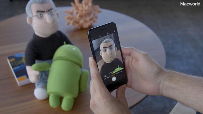 Giao diện điều khiển thân thiện trên iPhone 7 Plus.