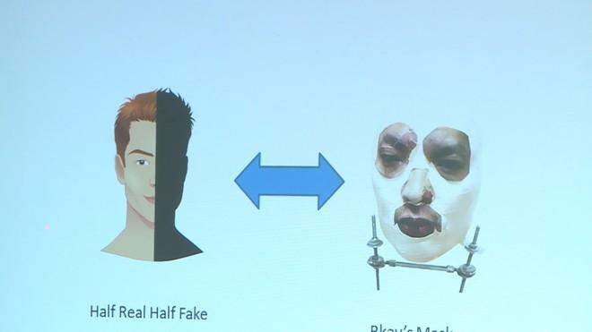 Triết lý của BKAV khi tạo mặt nạ: Nửa thật, nửa giả