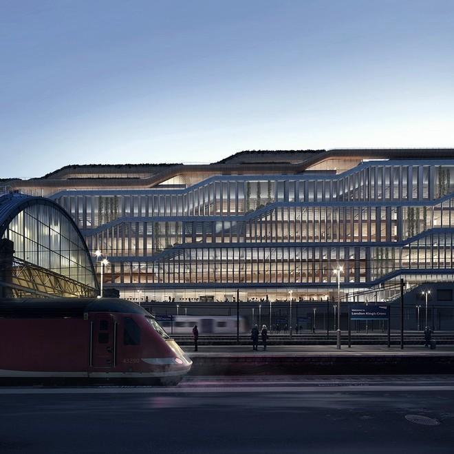 Chiêm ngưỡng văn phòng cao ốc nằm ườn của Google, có cả công viên trên sân thượng - Ảnh 8.