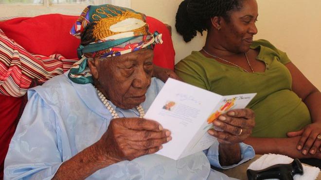 Cụ Violet Brown 117 tuổi hiện đang sống ở Jamaica