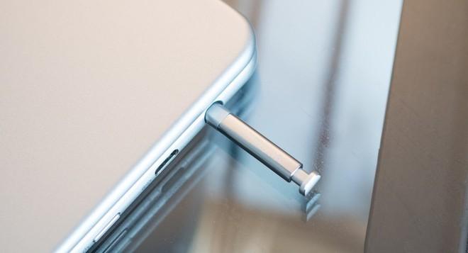Chiếc bút đặc trưng của dòng Samsung Galaxy Note.