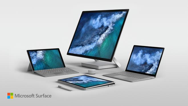 Thế hệ thiết bị Surface mới của Microsoft, một sự tương phản với những chiếc smartphone chạy Windows.