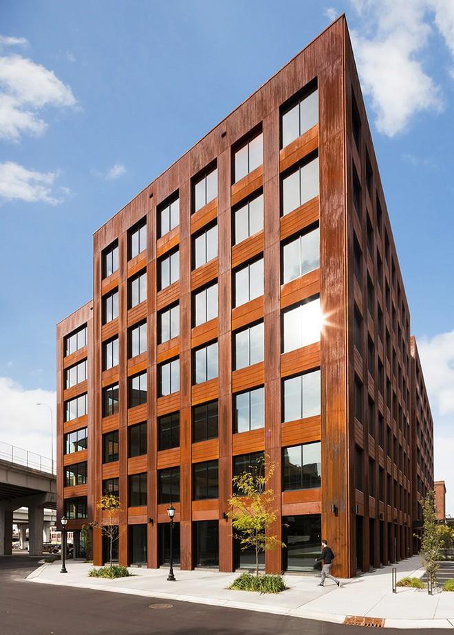 Tòa nhà 7 tầng bằng gỗ T3