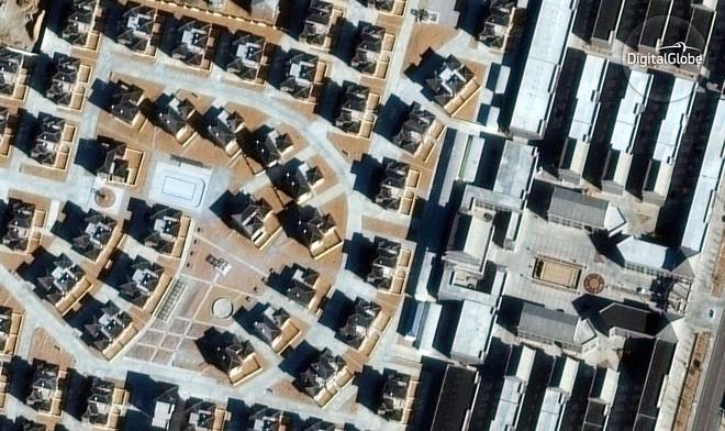 Đến năm 2015 thì những ngôi nhà được mọc lên.