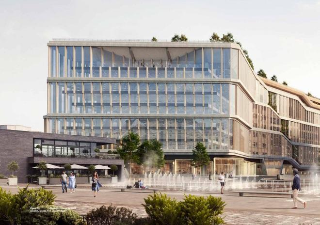 Tòa nhà cũng có rất nhiều phòng massage – hình ảnh quen thuộc ở các trụ sở văn phòng của Google.
