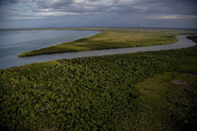 Arnhem Land là một trong 5 vùng lớn ở phía Bắc nước Úc, ngôi nhà của vô số cá sấu nước mặn.