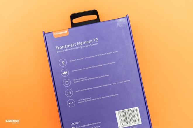 Đánh gia loa di động Tronsmart T2: nhỏ gọn, chống nước, kết nối được 2 loa cùng lúc, giá dưới 1 triệu đồng - Ảnh 3.