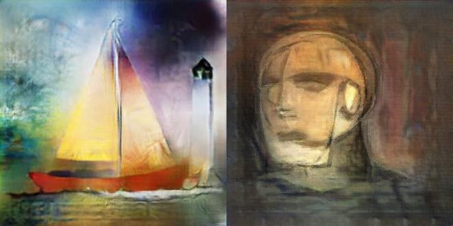 Bức vẽ của một AI có tên là Vincent.