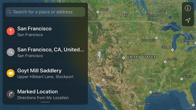 Ứng dụng bản đồ sử dụng GPS