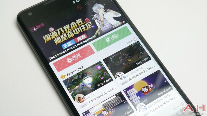 Chushou là nền tảng livestream game di động đang lên như diều gặp gió tại Trung Quốc.