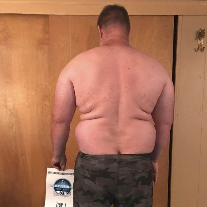 Dẫn con đi chơi nhưng thở không ra hơi, ông bố béo quyết tập gym 6 tháng, nhận được kết quả xứng đáng - Ảnh 2.