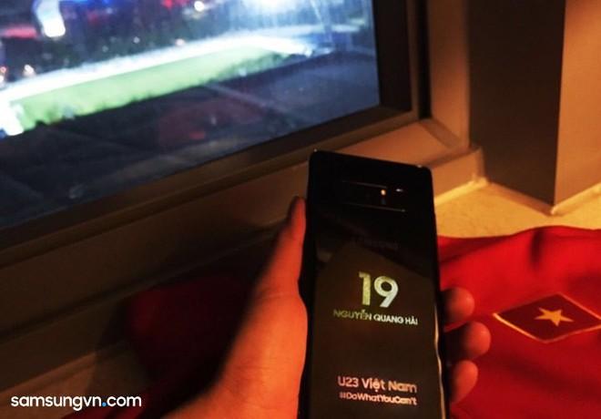 Samsung tặng Galaxy Note8 bản đặc biệt cho đội tuyển U23 Việt Nam - Ảnh 1.