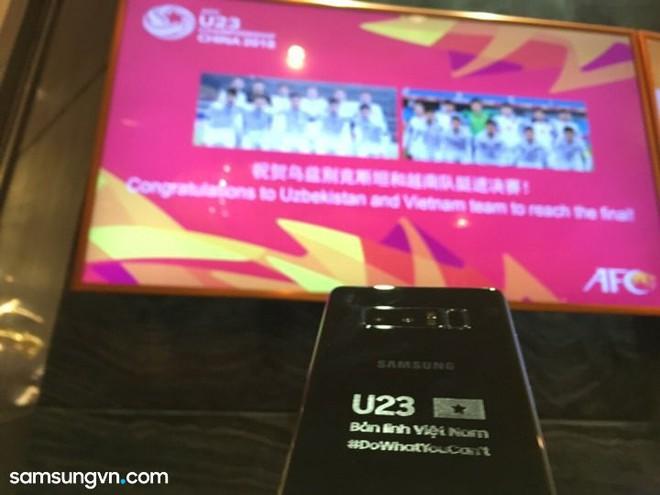 Samsung tặng Galaxy Note8 bản đặc biệt cho đội tuyển U23 Việt Nam - Ảnh 2.