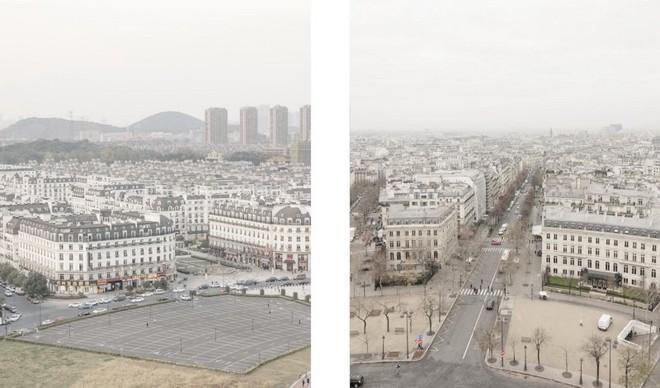 Thiên Đô Thành ở Trung Quốc gây hoang mang vì giống y hệt thành phố Paris của Pháp - Ảnh 3.