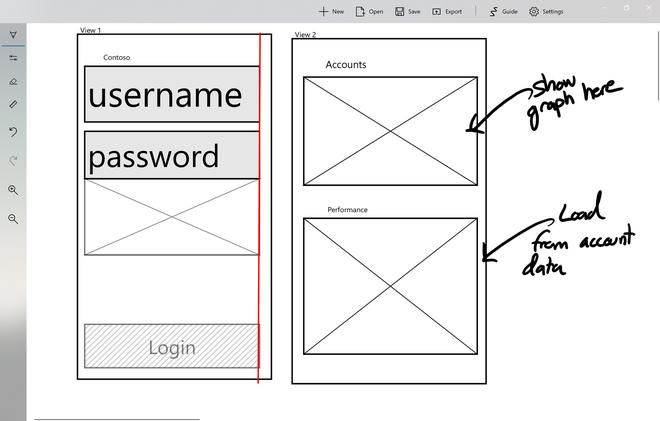 Microsoft đang thử nghiệm ứng dụng tự động biến các bức vẽ phác thảo thành giao diện người dùng - Ảnh 1.