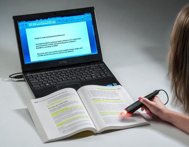 Chiếc bút giúp tiết kiệm thời gian gõ bàn phím.