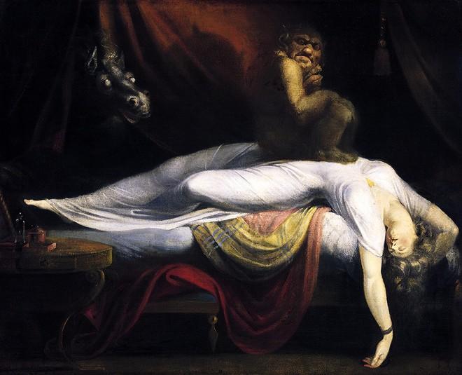 Bức tranh The Nightmare vẽ năm 1781 của Henry Fuseli