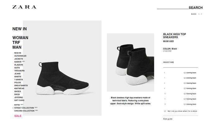 Mẫu sneakers mới nhất của Zara lại vướng nghi án đạo nhái Balenciaga và Rick Owens - Ảnh 2.